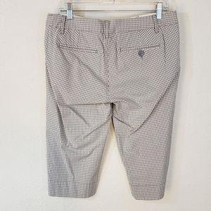 Anthropologie Shorts - Anthropologie Paper Boy 8 Bermuda Shorts Gray Chk
